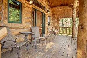 Black Hills Cabin 18 Deck