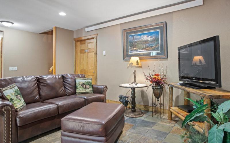 Black Hills Cabin 18 Living Area
