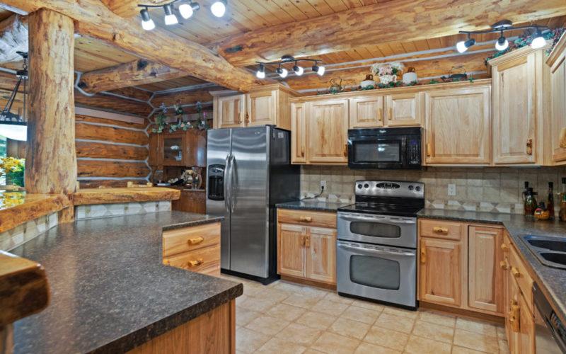Black Hills Cabin 18 Kitchen