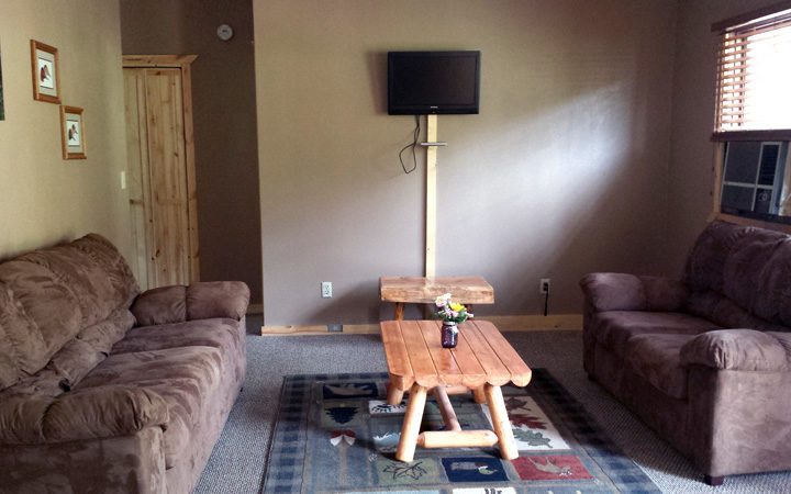 Cabin 11 Living Area- South Dakota