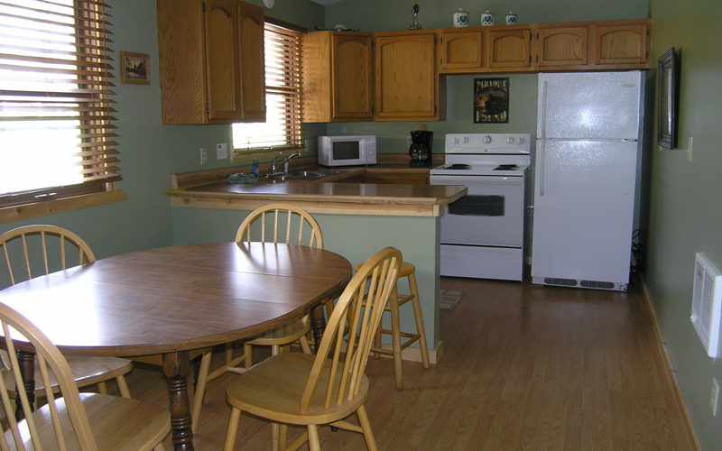 Cabin 11 Kitchen - South Dakota