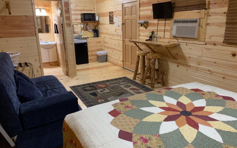 Black Hills Cabin for Rent #12 - Living