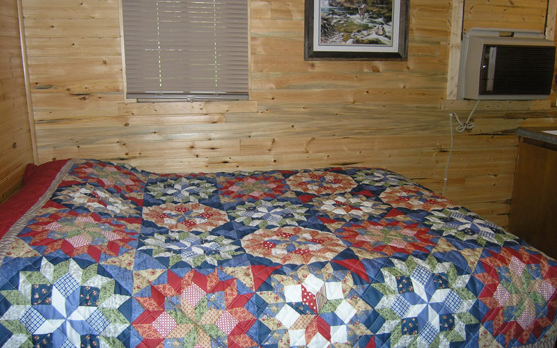 Black Hills Cabin #6 Bed