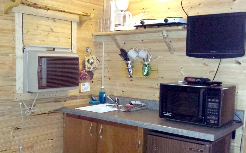 Black Hills Cabin #6 Kitchenette