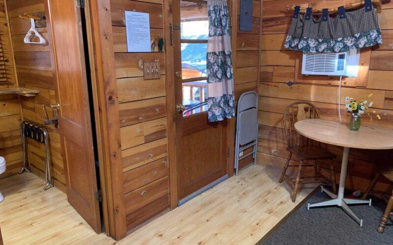 Rental Cabin 5 Living Area - Black Hills