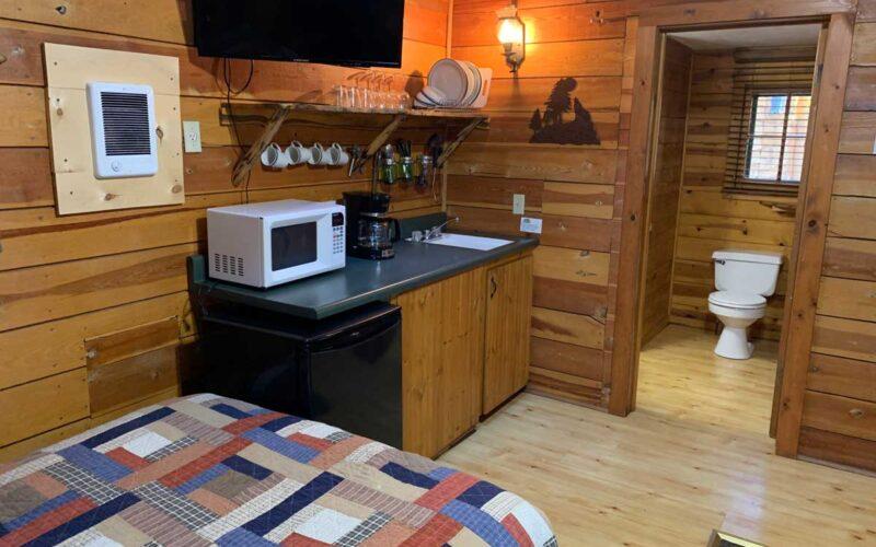 Rental Cabin 5 Kitchenette - Black Hills