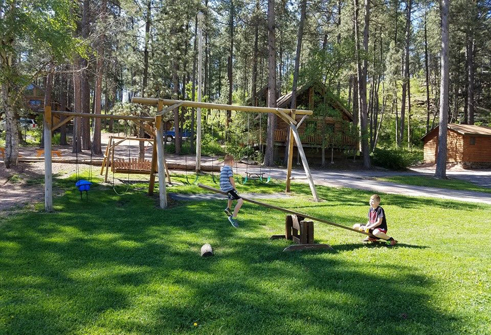 Cabin Playground